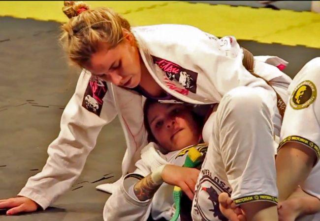 Vídeo: Luiza Monteiro x Talita Treta na final do absoluto faixa-preta em SP
