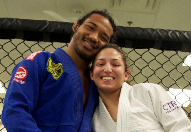 Vídeo: O armlock que Ben Henderson levou da esposa no treino aberto do UFC