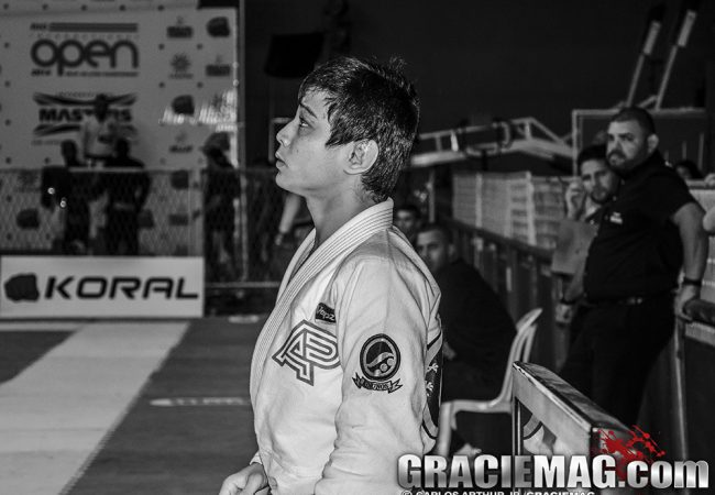 O ezequiel de João Miyao no Sul-Americano de Jiu-Jitsu