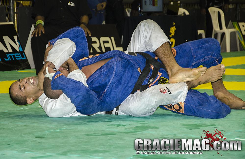 Diogo Moreno foi um dos destaques do evento. Foto: Arthur Junior/GRACIEMAG.com