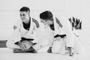 Rafa Mendes (left) with brother Gui.
