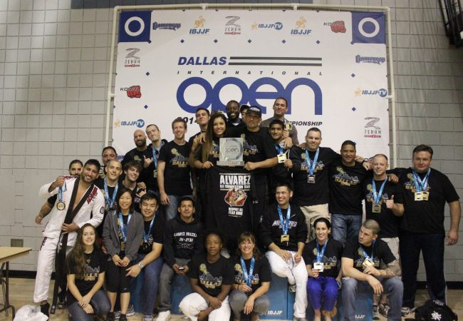 Bruno Bastos Association wins fourth consecutive IBJJF Dallas Open team trophy