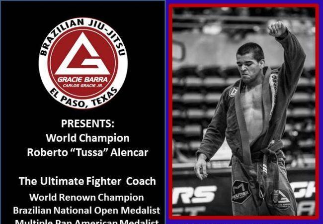 """Catch a Roberto """"Tussa"""" Alencar seminar in El Paso, Texas this weekend on Sept. 27!"""