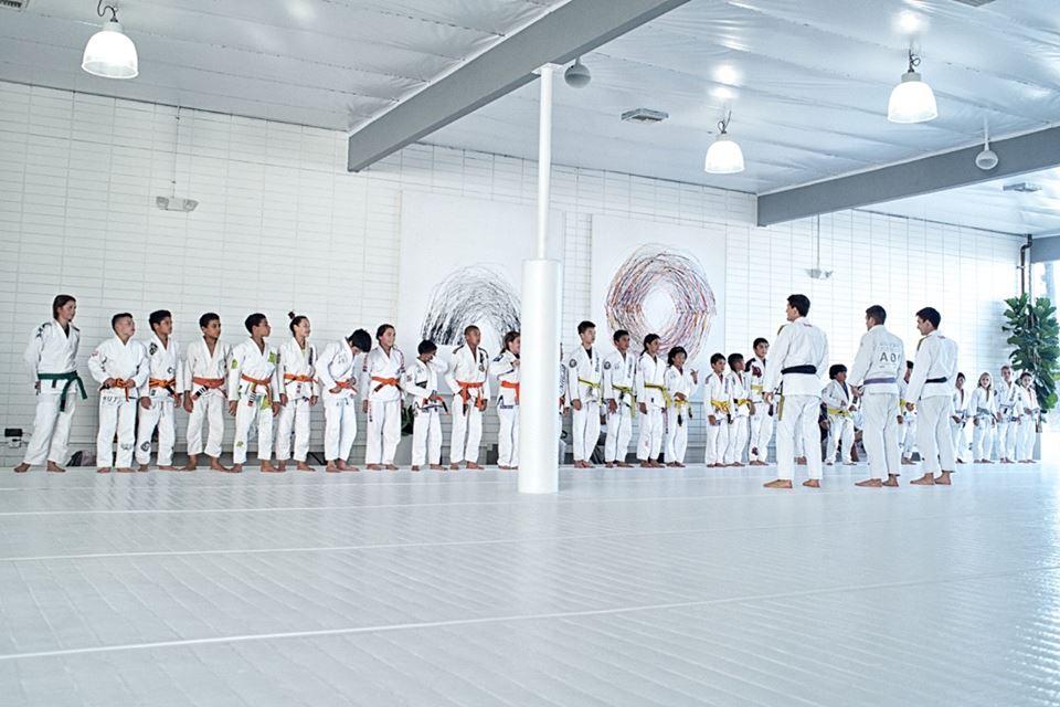 Kids class at AOJ. Photo: Nick the Tooth