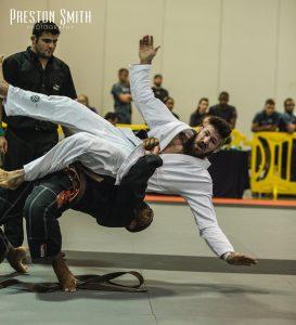 Admilson with the takedown. Photo: Preston Smith