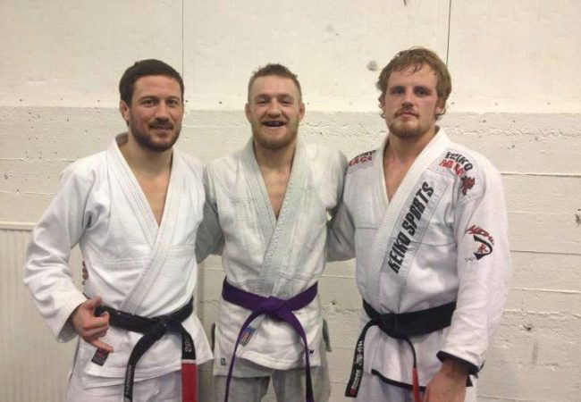Video: The day Conor McGregor tested his purple belt in Jiu-Jitsu