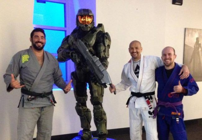 Video games & Jiu-Jitsu: James Foster trains with Bungie employees at Destiny launch party