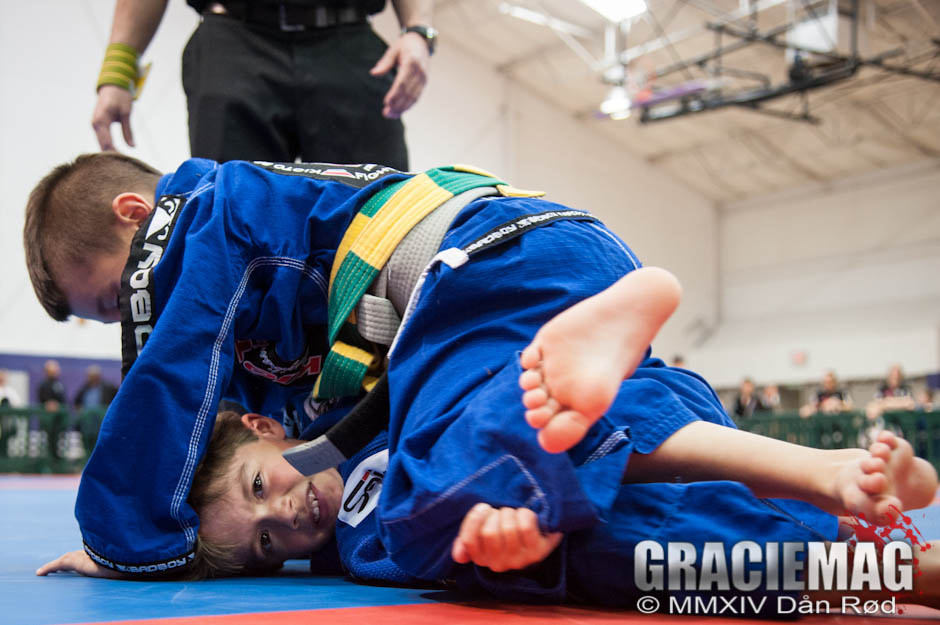 Kids competing at BJJ Tour Connecticut. Photo: Dan Rod