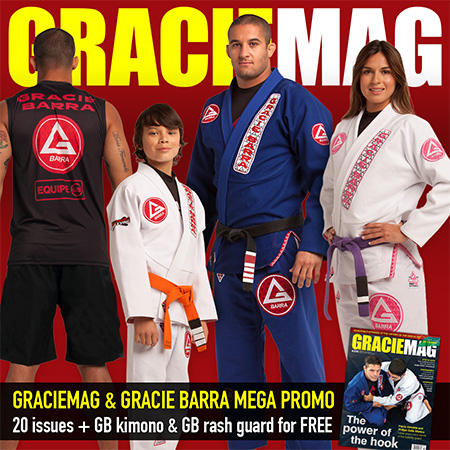 It's here! GRACIEMAG and Gracie Barra in a Promo like never before