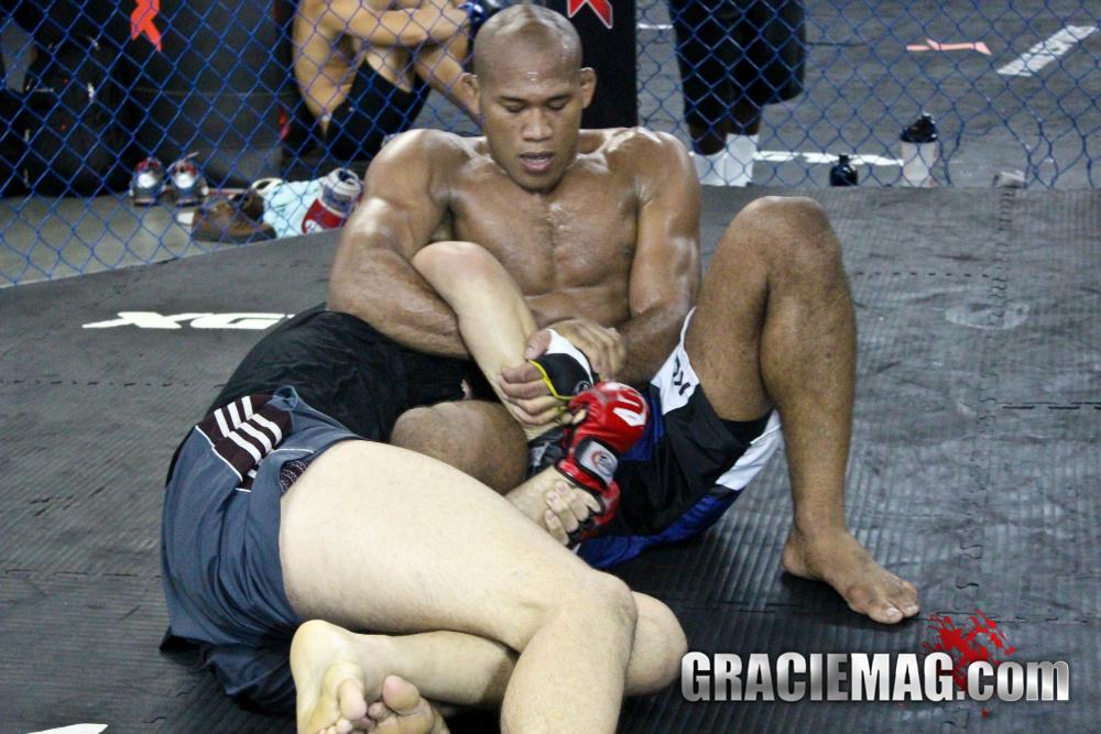Ronaldo Jacare training MMA