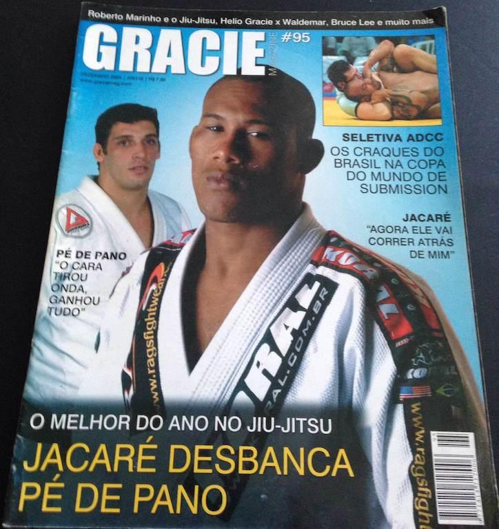 Jacaré foi eleito o melhor lutador de Jiu-Jitsu do ano em 2004.