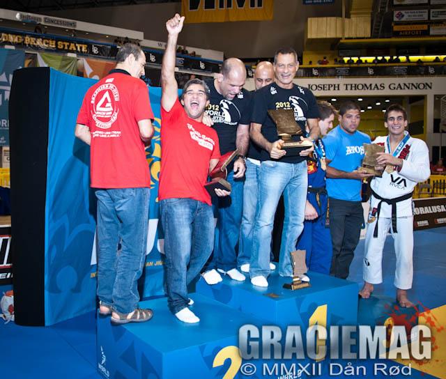 Líderes de equipes de Jiu-Jitsu. Foto: Dan Rod/GRACIEMAG