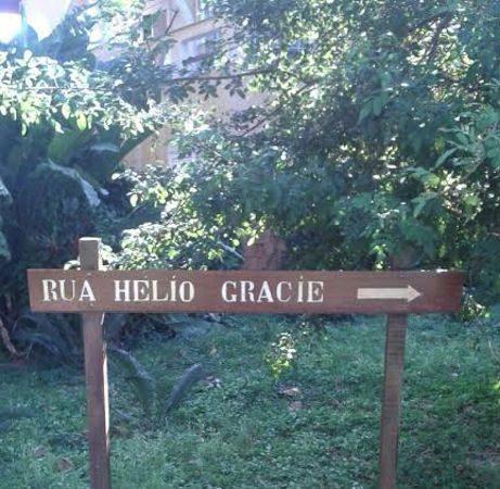 Fã de Jiu-Jitsu, você já passou pela rua Helio Gracie?
