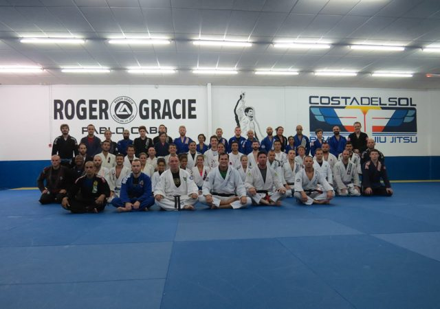 Roger Gracie has a full house for training camp in Spain