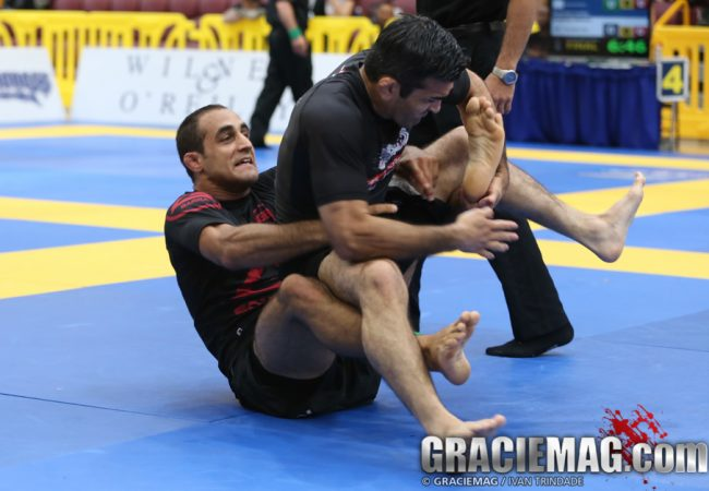 Learn a foot lock from the DLR with Pan No-Gi champion Rodrigo Freitas