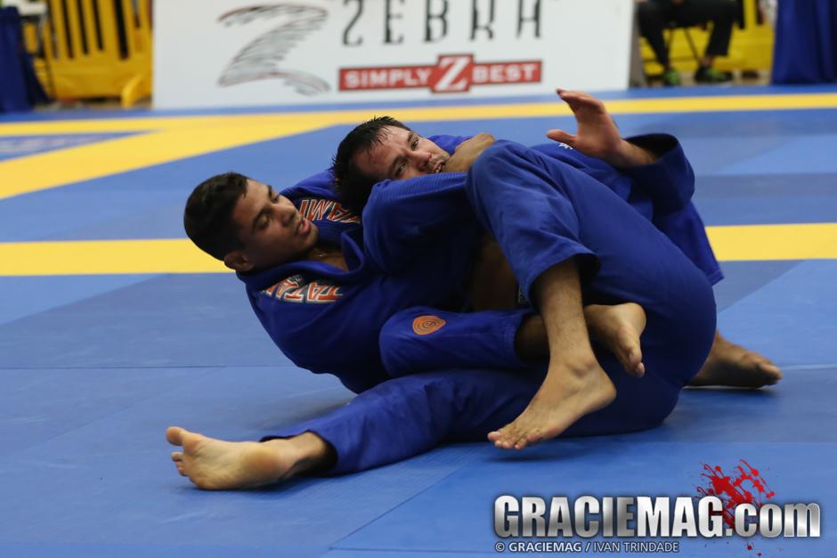 JT Torres em ação no torneio americano. Foto: Ivan Trindade/GRACIEMAG