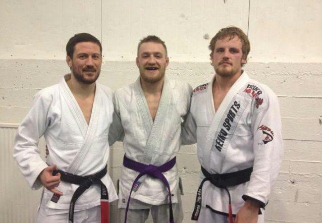 O dia em que Conor McGregor testou sua faixa-roxa no Jiu-Jitsu