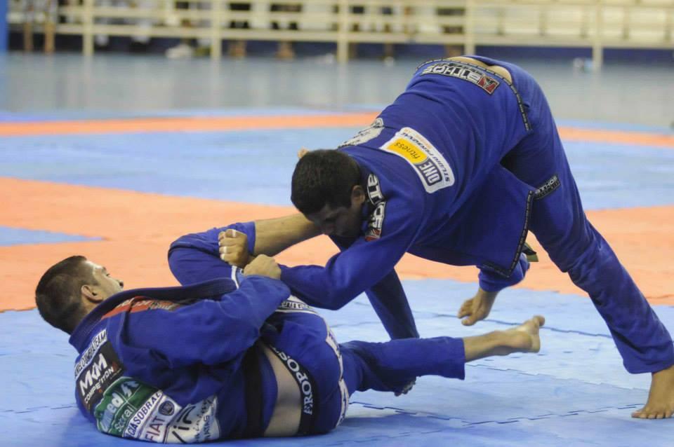 Atletas em ação no Manaus Open. Foto:CBJJ