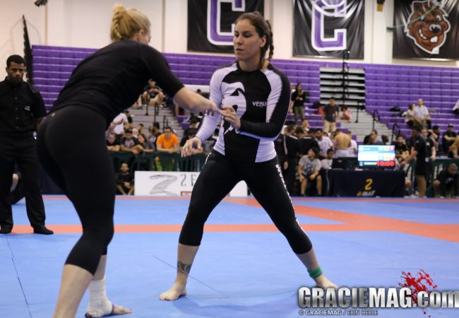 2014 Pan No-Gi: Luiza Monteiro vs. Megan Nevill in the female black belt open class final