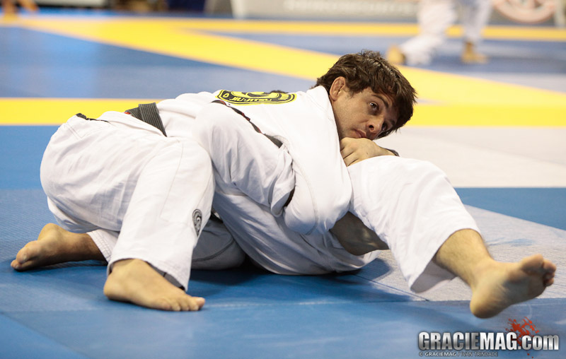 Robson Moura em ação no Jiu-Jitsu, Foto: Ivan Trindade/GRACIEMAG