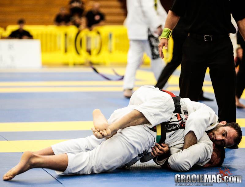 Samir em ação no Jiu-Jitsu. Foto: Ivan Trindade/GRACIEMAG