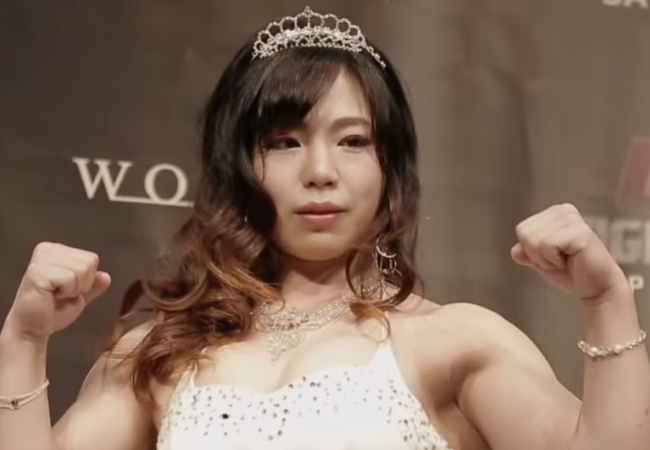 Meet Rin Nakai, the Japanese star in the UFC