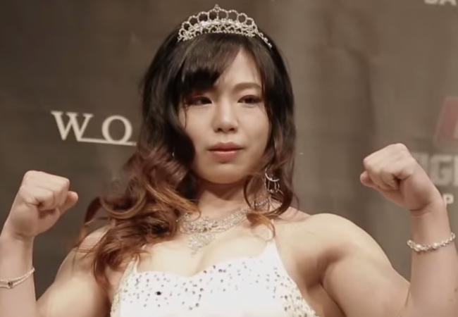 Meet Rin Nakai, the Japanese star in the UFC