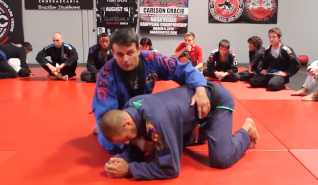 Video: Get the bow & arrow choke when your opponent turtles with Ricardo Cavalcanti