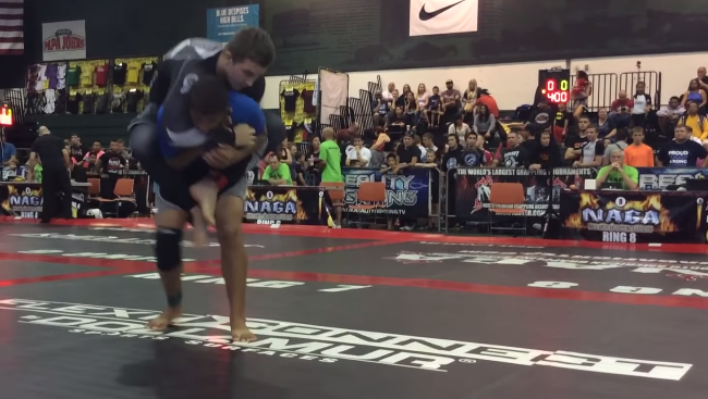 Video: Watch teens army of GMA Adamson Bros Academy takedown, pass guard & submit