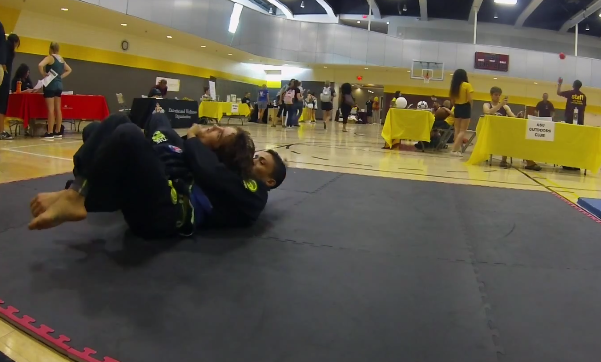Watch 30 Jiu-Jitsu combinations in five minutes with three Gustavo Dantas students