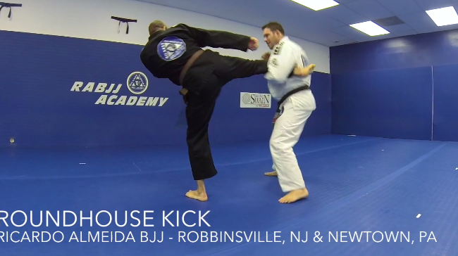 Video: Ricardo Almeida shows defense and takedowns to combat common strikes