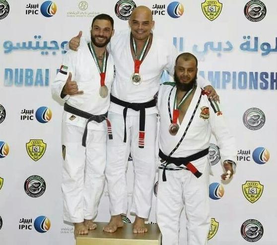 Sid Jacintho vence torneio de Jiu Jitsu em Dubai