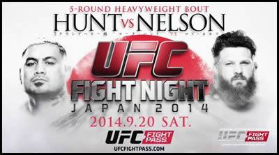 UFC Fight Night 52 – Hunt vs. Nelson: Quick results