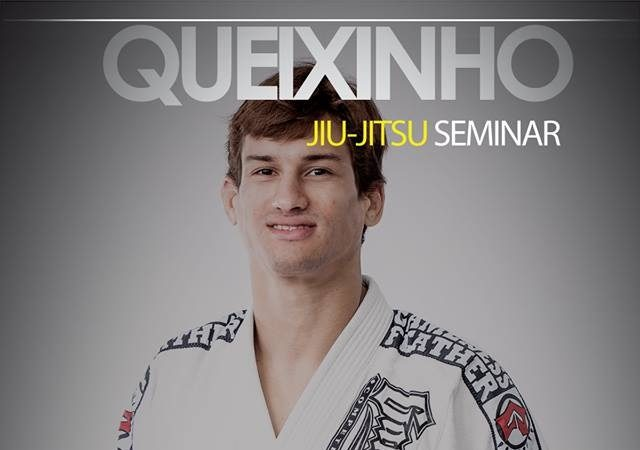 "Osvaldo ""Queixinho"" is out and about for seminars on the east coast Sept. 25-26"