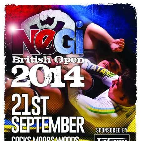 No-Gi British Open on Sept. 21 closes registration on Saturday, Sept. 13