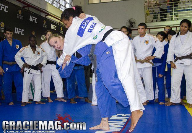 Vídeo: O treino de Ronda Rousey e Rafaela Silva, medalha de ouro na Rio 2016