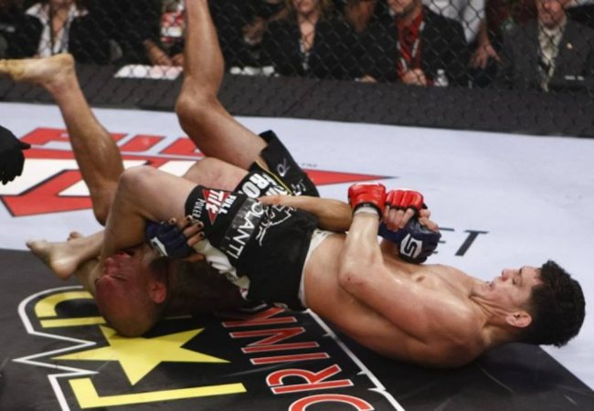 Remember Nick Diaz's armbar against Cyborg in the Strikeforce