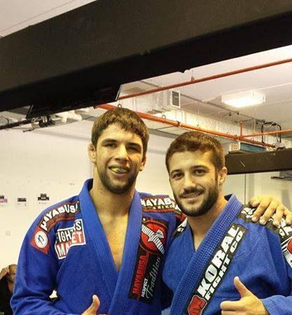Take a look at the Jiu-Jitsu style of Luca Anacoreta, London Open's absolute champion