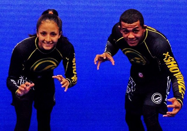 Young Checkmat couple wins no-gi world title together at brown belt