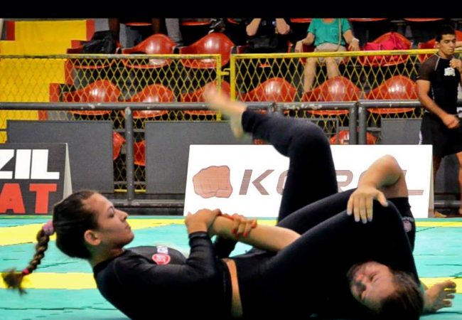 Bia Mesquita's speed armbar in the Brazilian No-Gi Nationals