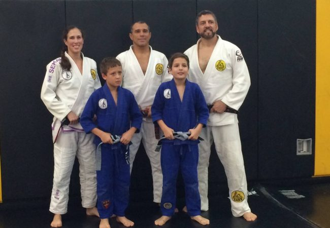 GMA Gracie North Carolina earns their first female black belt promoted by Royler Gracie