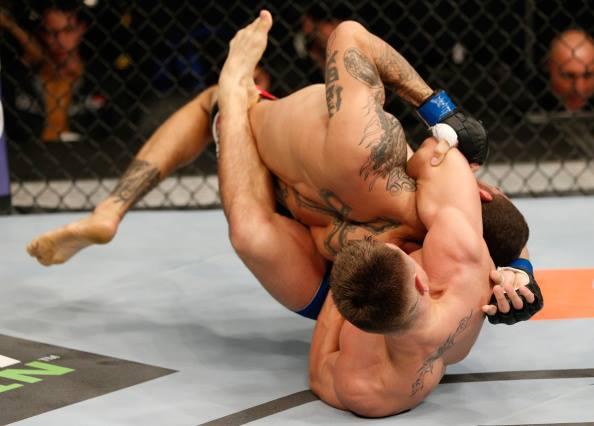Jiu-Jitsu: Study a modified guillotine that worked in the UFC