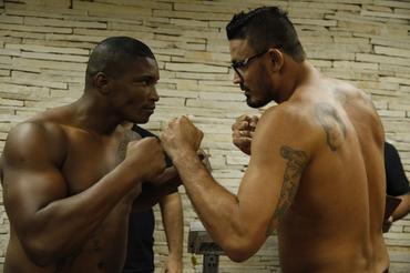 Fernando Batista e Caião Alencar fazem o duelo principal na divisão peso pesado. Foto: Divulgação