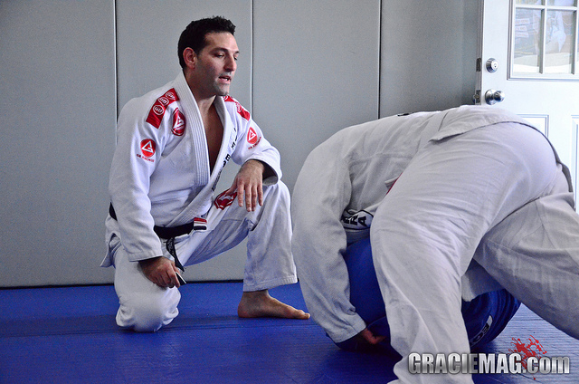 Video: Joe Scarola of GMA GB Long Island tells how to get the triangle from side control