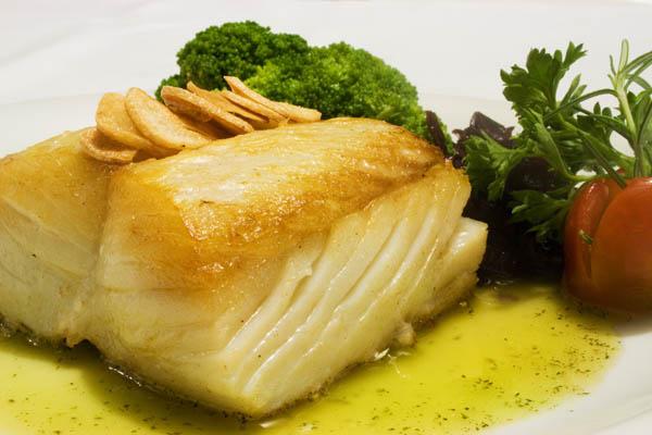 Bacalhau também faz parte da Dieta Gracie. Foto: Divulgação