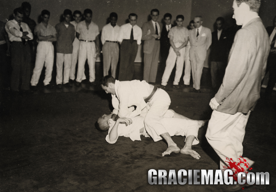 One of his challenges in the 50s