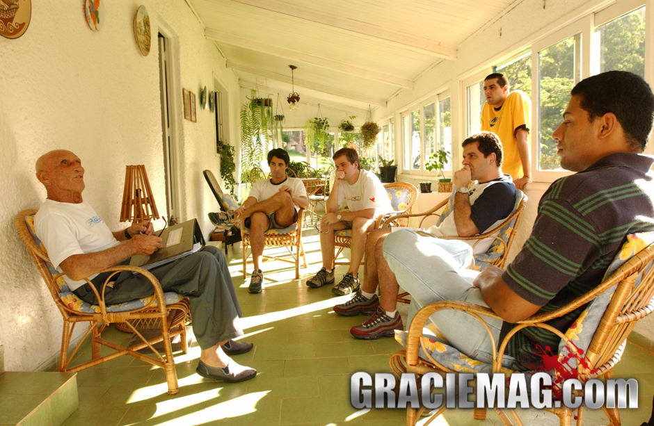 Helio and the GRACIEMAG team in 2005
