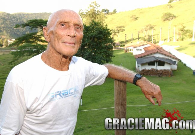 Son of BJJ Grand Master Helio Gracie honors his birthday