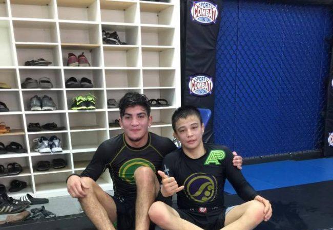Absoluto no Pan Sem Kimono, Dillon Danis comenta treino com Miyao