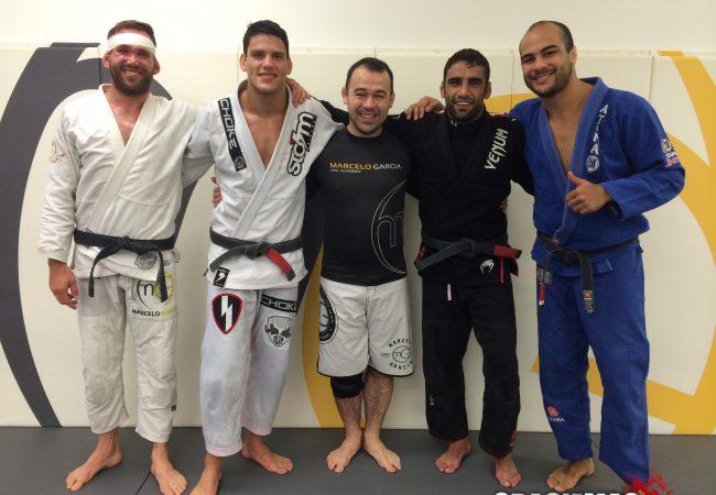 Exclusive: Leandro Lo & Felipe Pena train at Marcelo Garcia Academy in NYC